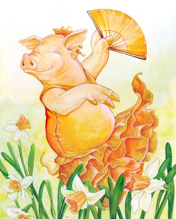 Spring Flamenco by ursulav