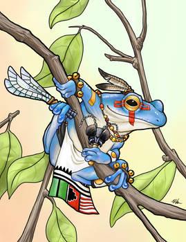 Kachina Frog