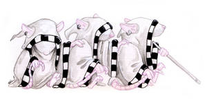 Three Blind Mice by ursulav