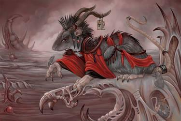 The Demon Rat of Vercingetorix by ursulav