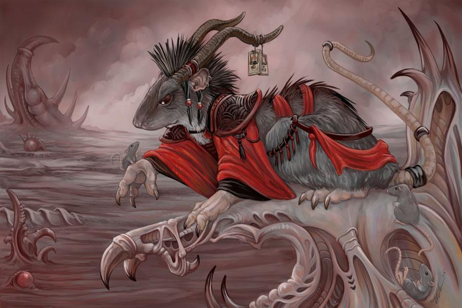 The Demon Rat of Vercingetorix