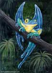 Blue Macawfrog