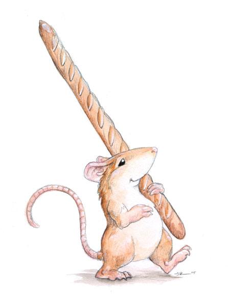 Mouse Baguette