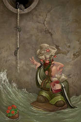 Rising Water by ursulav