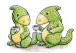 Hadrosaur Tea