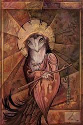 Owl Saint by ursulav