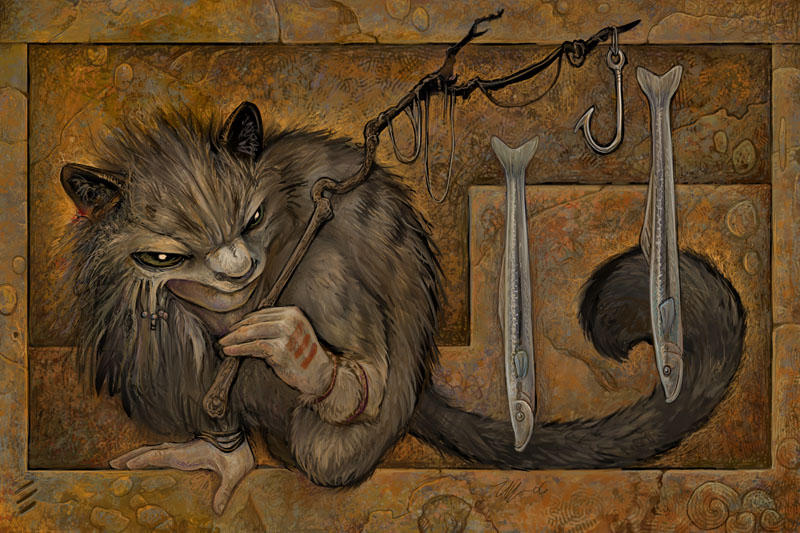 The Fisher by ursulav