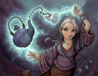 A Wizard of Tea by ursulav