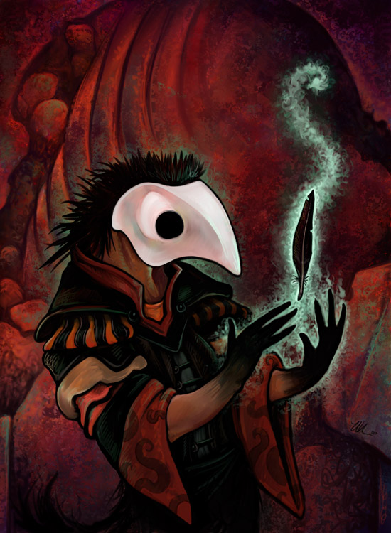 Bird Priest by ursulav
