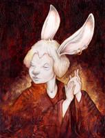 White Rabbit by ursulav