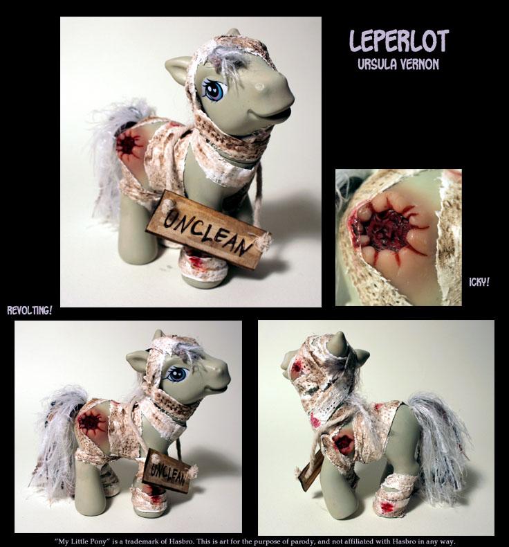 My Leper Pony by ursulav