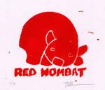 Red Wombat Lino