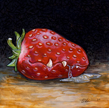Feral Strawberry of Appomattox by ursulav