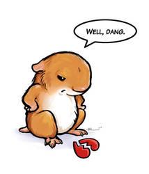 Hamster Heartbreak by ursulav