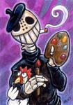 Painter Skeleton