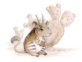 Rattalope by ursulav