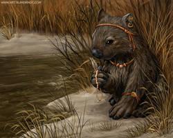 Aboriginal Wombat