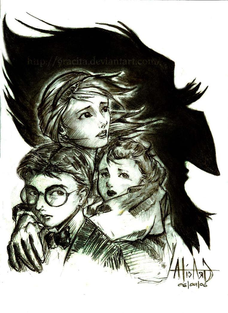 Baudelaires vs Count Olaf by gracita on DeviantArt