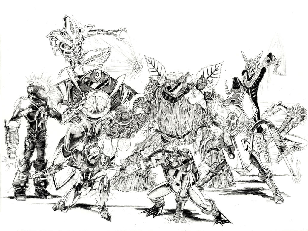 Robot Masters Series 2 by JNRedmon
