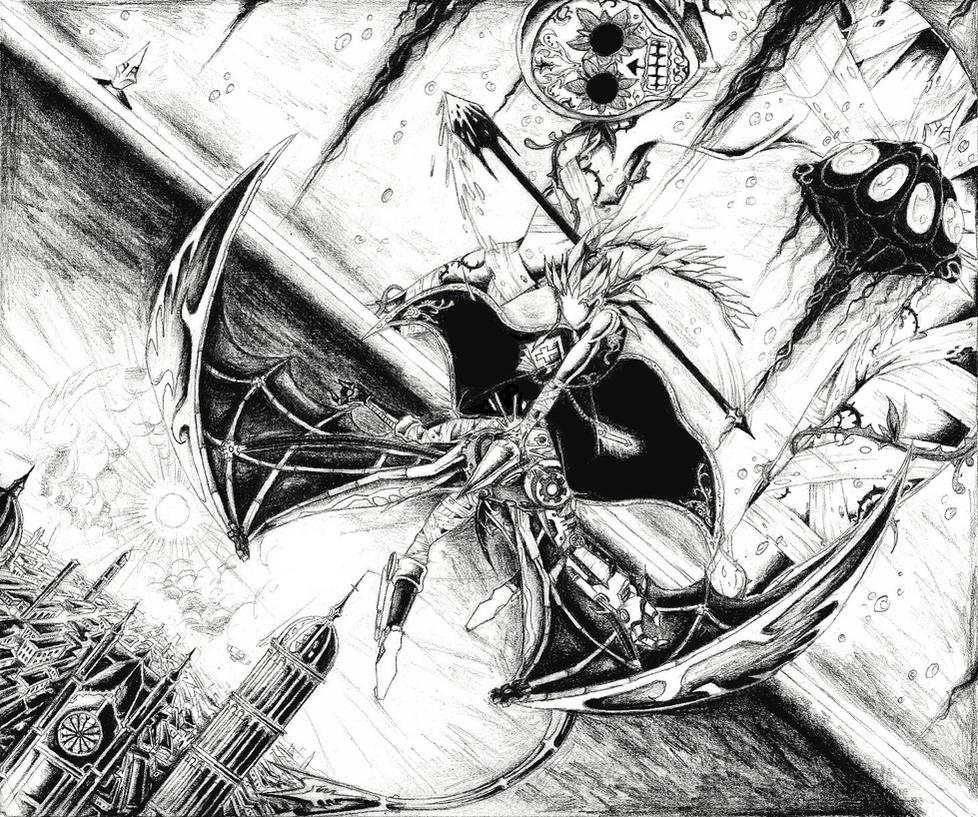 Brawl Between Dimensions by JNRedmon