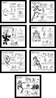 Commission: SSB4 Character Ideas - Part 5 by JNRedmon