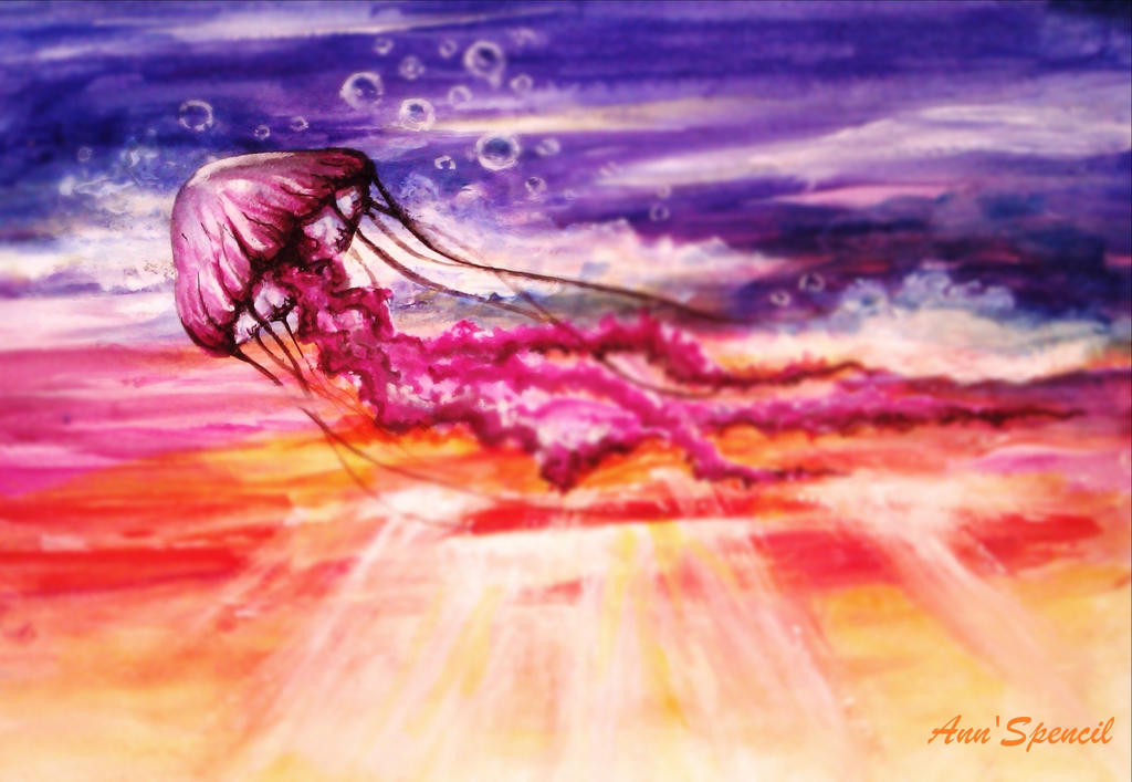 jellyfish by AnnSpencil
