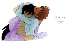 Seiya and Shiryu [Color] by oliverespectro