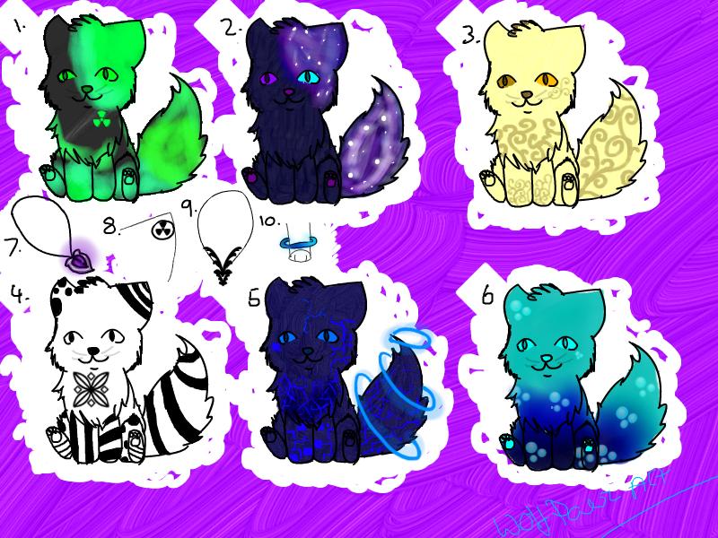 Kitty Adopts!!!!! ~OPEN~ by WolfPawzArt
