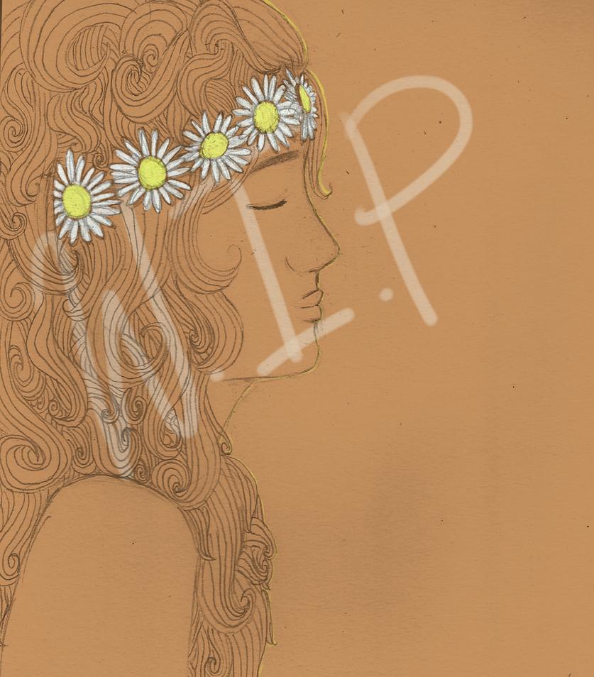 Daisy (work in progress) by WolfPawzArt
