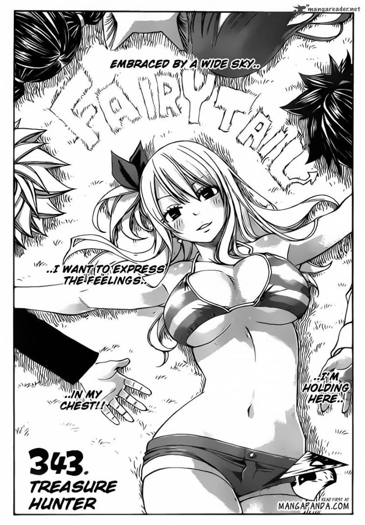Fairy Tail CH 343 Lucy Heartfilia Treasure hunter! by Faithwoe