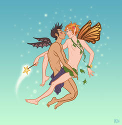 Fairy boys by Jess-Fink
