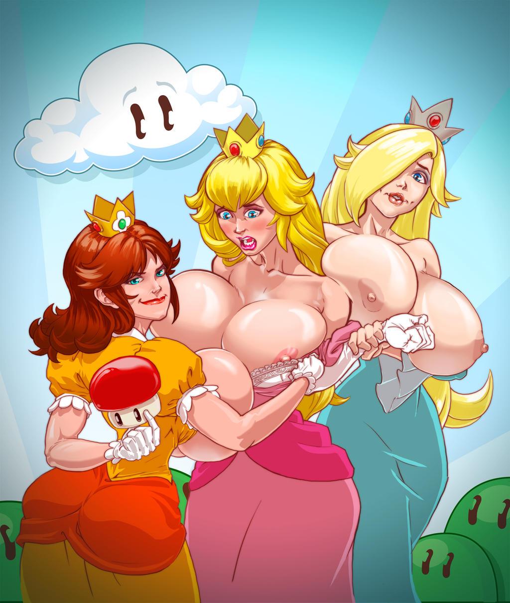Princess daisy and rosalina rule 34 nudes video