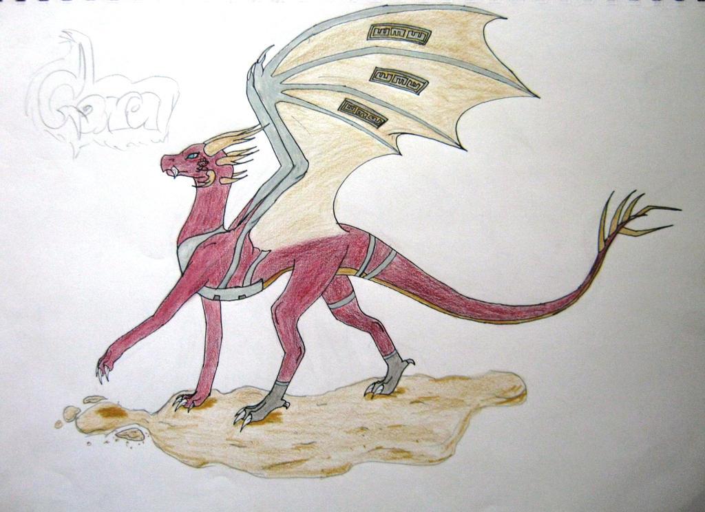 Gara dragonised by ghostdragoness16