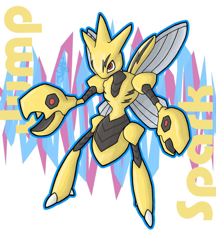 Jump Spark - Scizor by haha-tommy