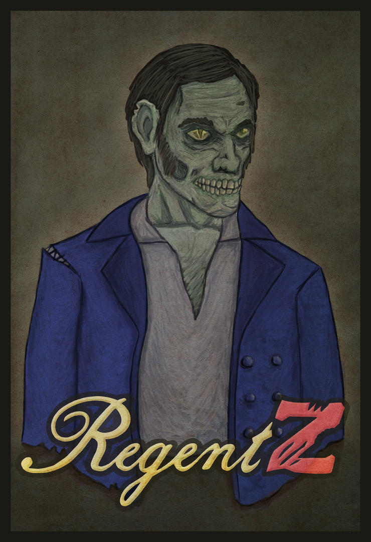 Early Zombie Concept - RegentZ by haha-tommy