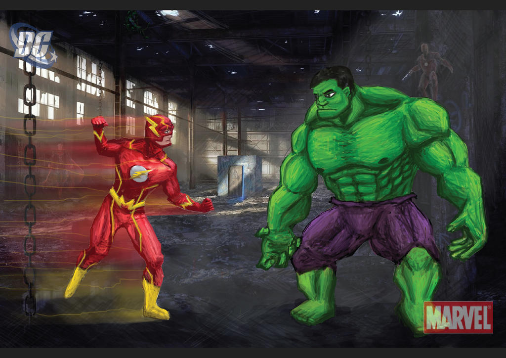 Marvel vs DC by haha-tommy