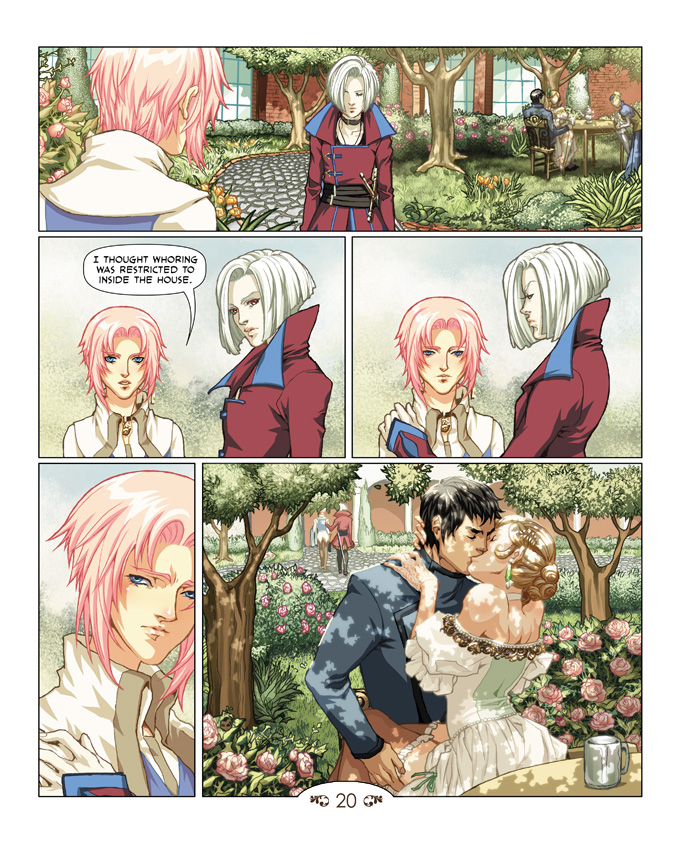 Pg 20 up at Teahousecomic.com by teahousecomic