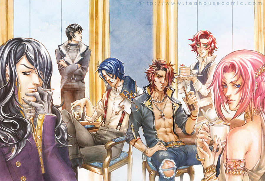 Comics Yaoi Teahouse_chapter_one_cover_by_teahousecomic-d32ky7q