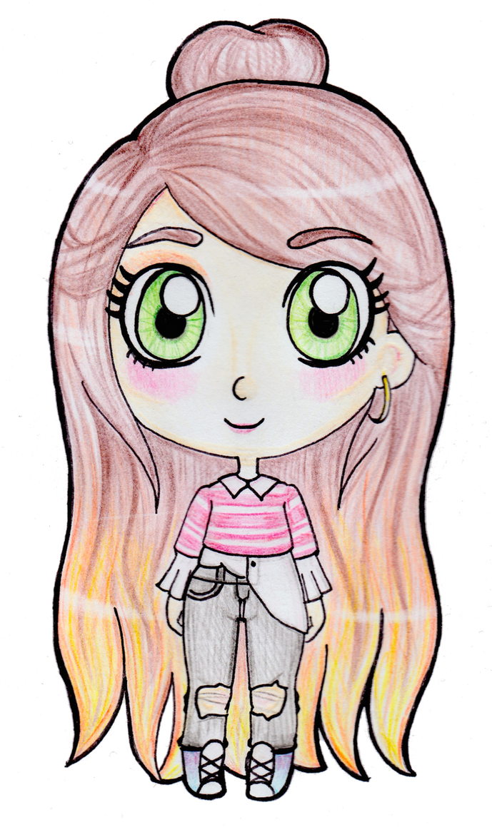 Pink Jumper by Maddie-Cakes