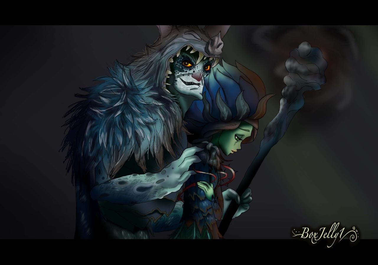My Dark Princess by Boxjelly1
