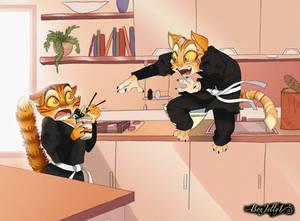 Commission: Ninja Cats