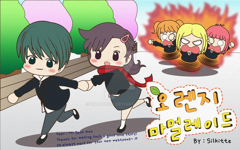 Orange Marmalade Webtoons Fans Art :D by kumoneko