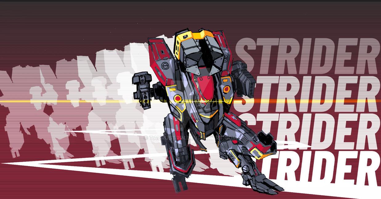 (2019) fan art : Strider by taurustrin