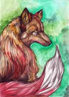 Vulpes vulpes by Syra-Syra