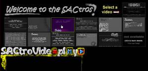 SACtros Videos Section
