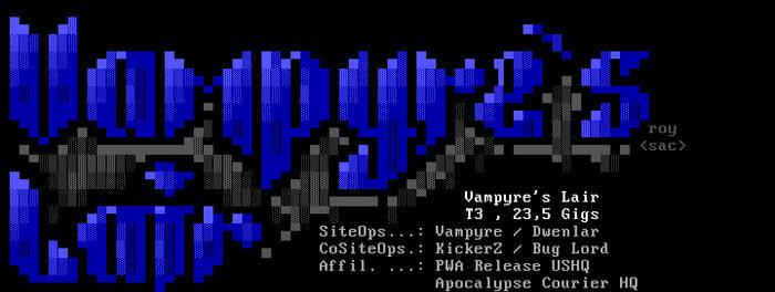 Vampyre's Lair ANSI