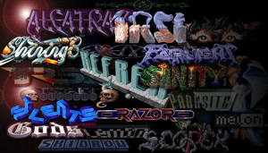 Scene Logo Collage