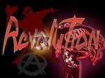 Revolution Logo Collage