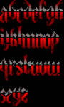 ANSI Font 'Darkness 2'