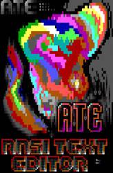 ATE - Ansi Text Editor Beta Splash Screen by roy-sac